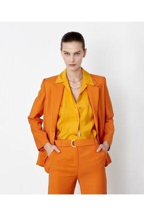 İpekyol Kadın Sarı Kuşaklı Over Size Gömlek 1