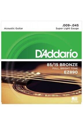 D'Addario D'addario Ez890 Takım Tel - Akustik Gitar Teli 009-045 0