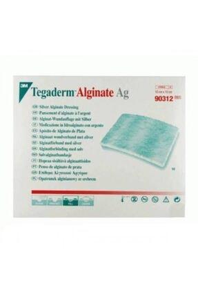 3M Tegaderm 90312 Alginate Ag Gümüşlü Yara Örtüsü 10cm X 10cm Antimikrobiyel (5 Adet) 0
