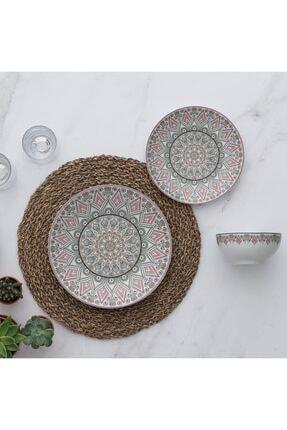 Güral Porselen Desenli Yemek Takımı Seti gür025
