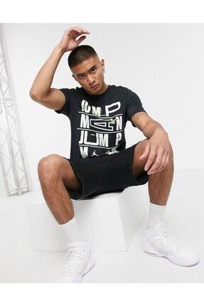 Nike Erkek Siyah Jordan Dect Jumpman Ss Crew T-shirt Cj6302-010 2