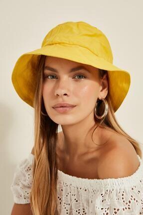 Y-London 13372 Sarı Bucket Şapka 1