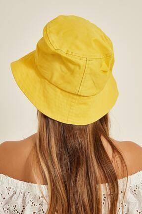 Y-London 13372 Sarı Bucket Şapka 2