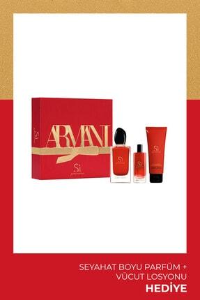 Giorgio Armani Si Passione Edp 100 Ml Kadın Parfüm Seti 3614273225250 0