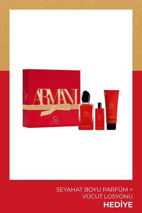 Giorgio Armani Si Passione Intense Edp 100 Ml Kadın Parfüm Seti 3614273231701 0