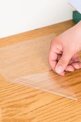 Tutunabilir Kağıt 2 Tane Şeffaf Akıllı Kağıt Tahta 100x150 Cm Yazı Tahtası + Kalem Duvara,cama,tahtaya Uygulanır 3