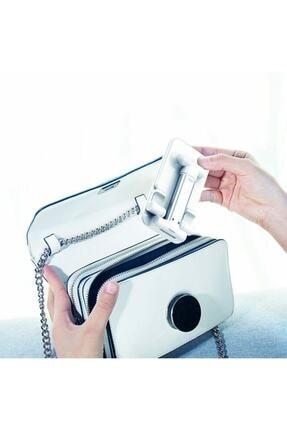 Coverzone Masaüstü Tablet Ve Telefon Tutucu Katlanabilir Masaüstü Stand Beyaz 1