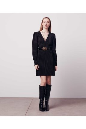 İpekyol Kadın Siyah Anvelop Elbise 0