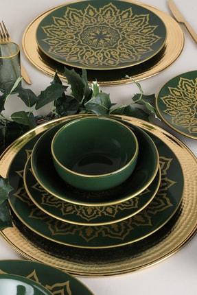 Keramika Topkapı Jocobs Yeşili Yemek Takımı 24 Parça 6 Kişilik 2