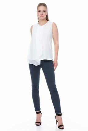 Şık Bayanlara Özel Kolsuz Bluz Modacıdan Büyük Beden TGHJKL5687