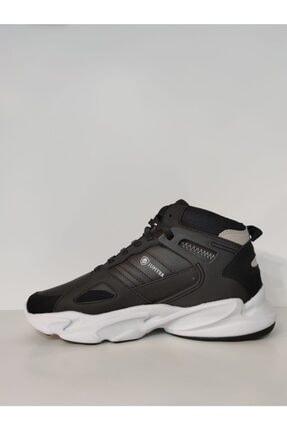 MP Erkek Beyaz Bilek Boy Siyah Basket Ayakkabı 1