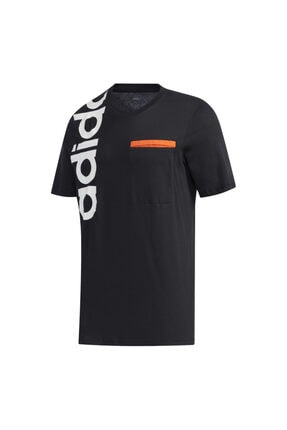 adidas Erkek Siyah New Authentic  T-Shirt 4