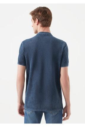Mavi Erkek Mavi Hakim Yaka T-Shirt 3