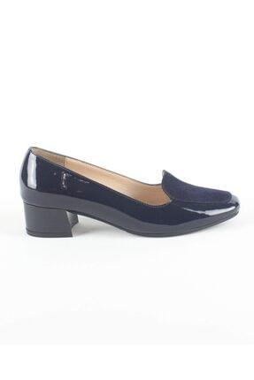 Kadın Lacivert Topuklu Ayakkabı PPC087RUGAN LACİVERT