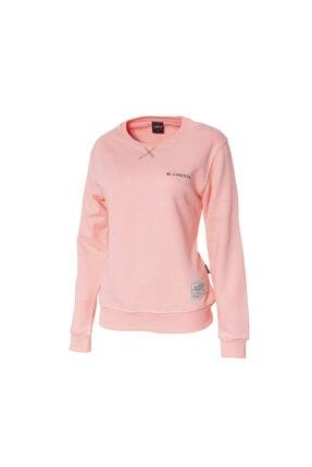 Cresta Kadın Pembe Outdoor Basic Sweatshirt 0