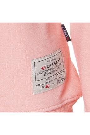 Cresta Kadın Pembe Outdoor Basic Sweatshirt 2