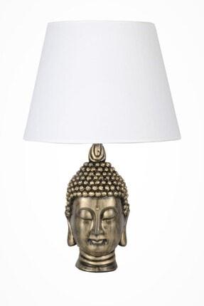 Beyaz Modern Dizayn Büyük Buda Abajur qdecbbudaabj023