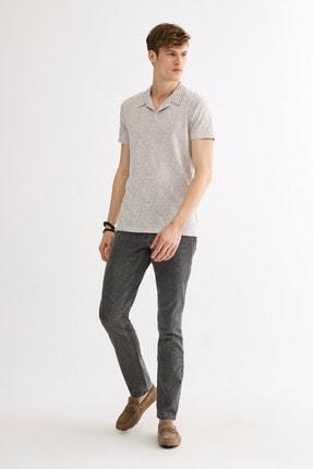 Avva Polo Yaka Jakarlı T-Shirt 4