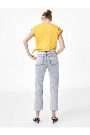 Twist Kadın Turuncu Baskı Üzeri Payet İşli Tişört 3