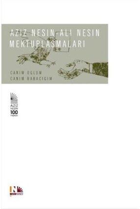 Nesin Yayınları Aziz Nesin - Ali Nesin Mektuplaşmaları (ciltli) 0