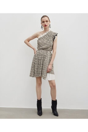 İpekyol Kadın Kahverengi Elbise 2