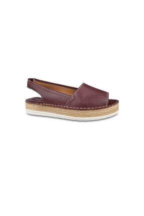 Ceyo Kadın Bordo Ortopedik Sandalet 2352 (36-40) 0