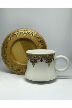 Perotti 12198 Percy Tekli Porselen Motifli Kahve Fincanı 0