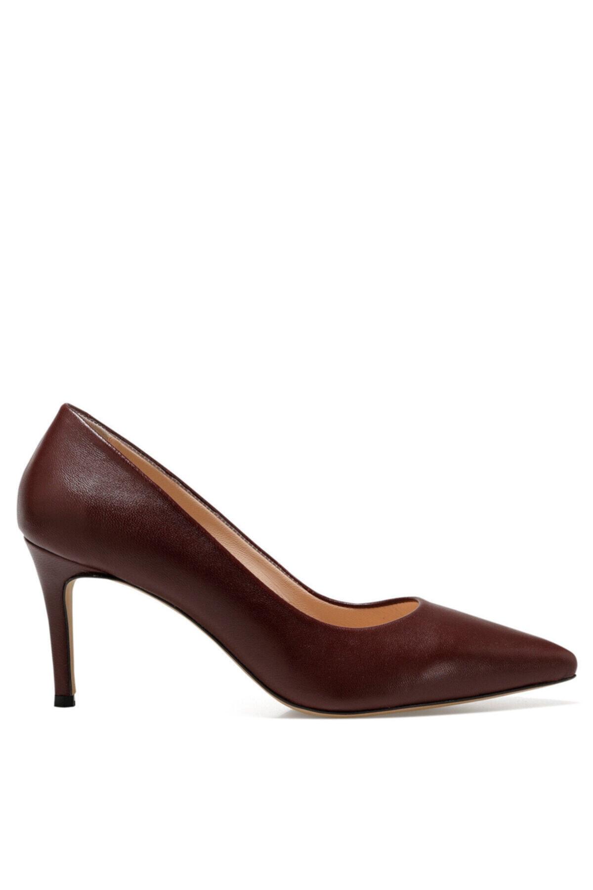 Cavır Bordo Kadın Gova Ayakkabı