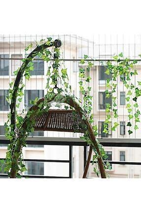 bimbambom Yapay Sarmaşık Üçgen Yaprak 230 cm 3 Adet Yapay Asma Yaprağı 1