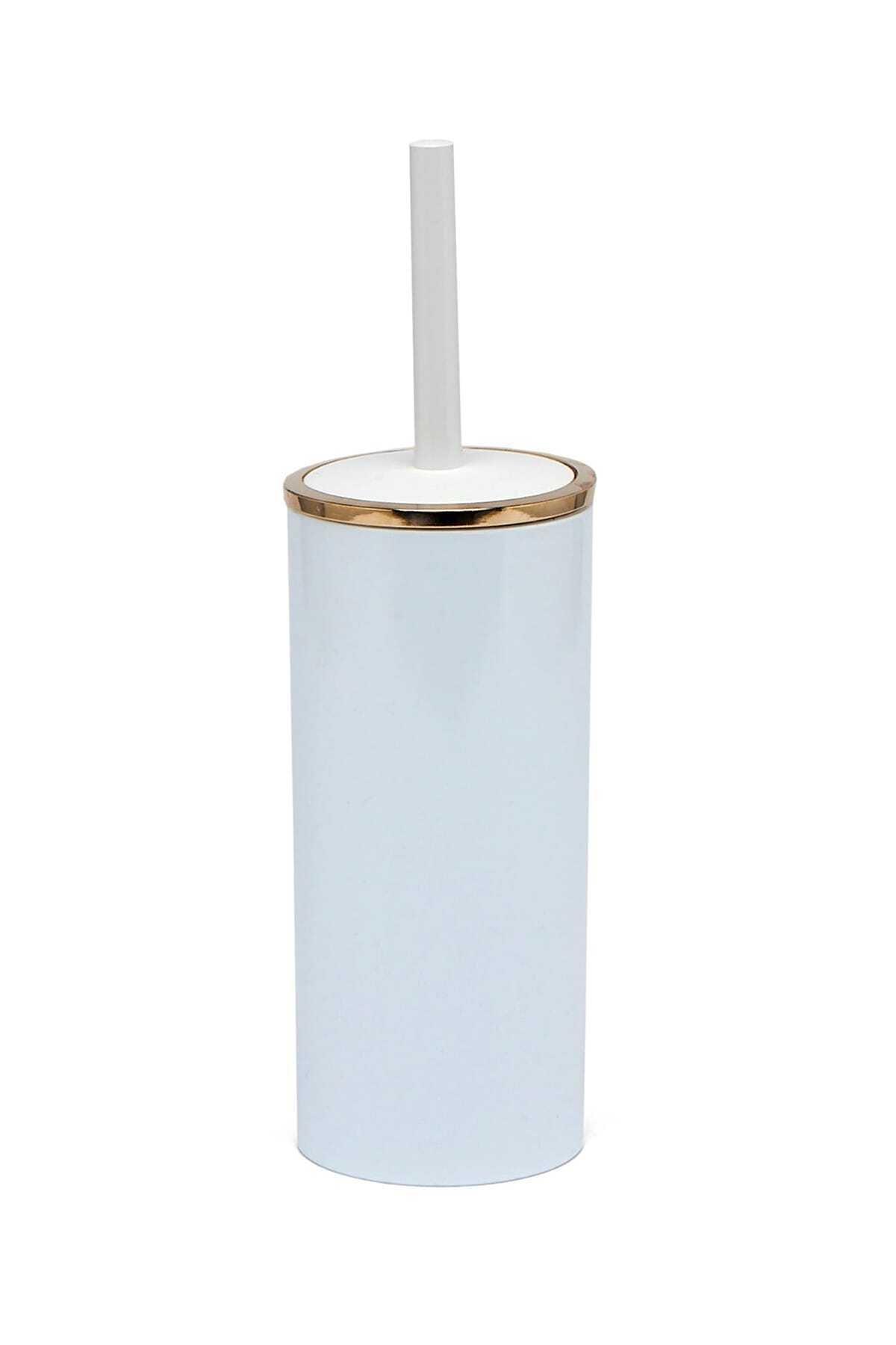 Beyaz Altın Renk Lenox Tuvalet Fırçası