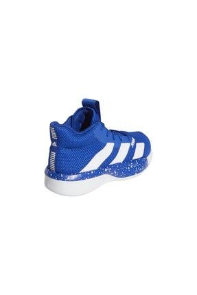 adidas Unisex Çocuk Mavi Pro Next Basketbol Ayakkabısı 4