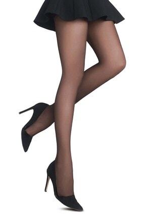 Penti Kadın Siyah Fit 20 Külotlu Çorap 0