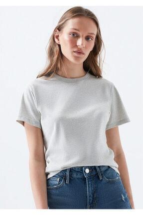 Mavi Doğa Dostu Gri Basic Tişört 1