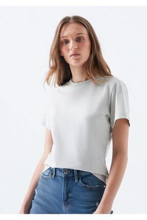 Mavi Doğa Dostu Gri Basic Tişört 2