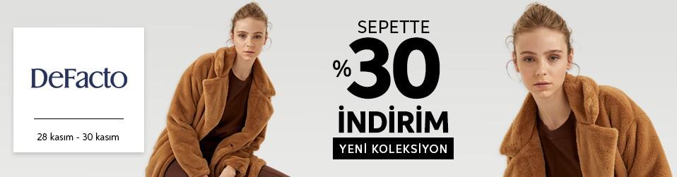 Defacto - Kadın & Erkek & Çocuk Tekstil - Sepette %30   Online Satış, Outlet, Store, İndirim, Online Alışveriş, Online Shop, Online Satış Mağazası