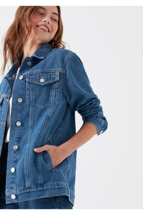 Mavi Kadın Jill Indigo Jean Ceket 110081-28173 1