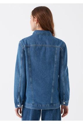 Mavi Kadın Jill Indigo Jean Ceket 110081-28173 4