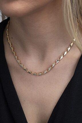 Sortie Aksesuar Kadın Altın Rengi Kolye 033 0
