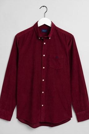 Erkek Kırmızı Regular Fit Gömlek 3016820