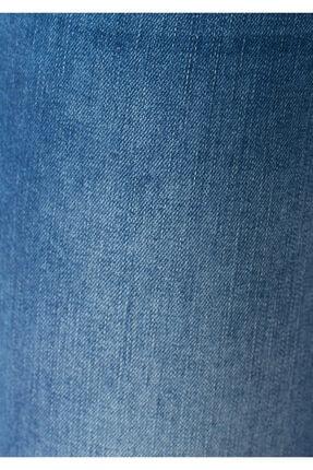 Mavi Kadın Ada Yırtıklı İndigo Jean Pantolon 1020530403 1