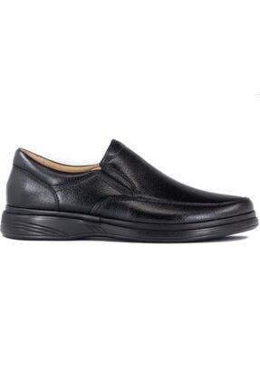 GÜRCAN Erkek Sşyah Ekinci Hakiki Deri Siyah Günlük Ayakkabı 1