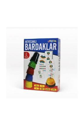 Zekice Eğitici Heyecanlı Bardaklar,hızlı Bardaklar, Pratik Bardaklar, Renkli Bardaklar, Zeka Ve Akıl Oyunu 0
