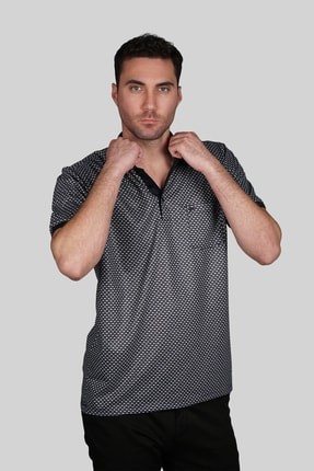 İgs Erkek Lacivert Regular Fit Polo Yaka T-shirt 0