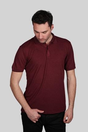 İgs Erkek Bordo Slim Fit Polo Yaka T-shirt 0