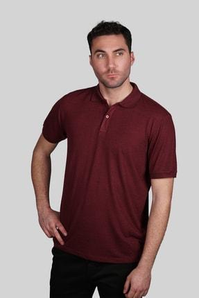 İgs Erkek Bordo Slim Fit Polo Yaka T-shirt 1