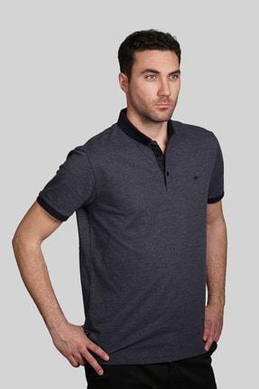 İgs Erkek Lacivert Slim Fit Polo Yaka T-shirt 0
