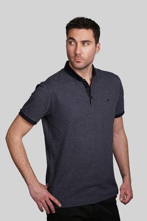 İgs Erkek Lacivert Slim Fit Polo Yaka T-shirt 1