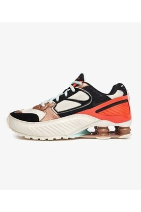 Nike Kadın Kırmızı Siyah Shox Enigma 9000 Spor Ayakkabısı Ct3451-100 0