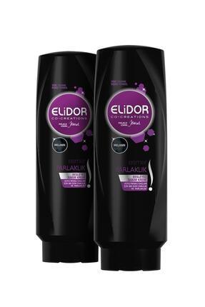 Elidor Esmer Parlaklık Saç Kremi 500 Ml X2 1