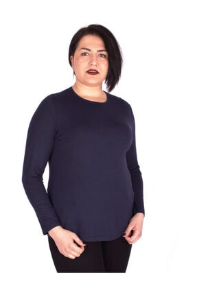 Günay Giyim Kadın Lacivert Bluz 1